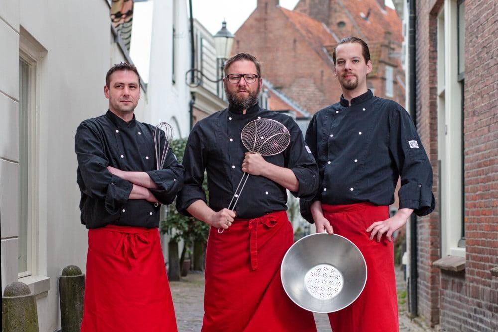 Het vaste team van Vlaams friteshuis van Gogh