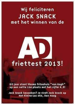 JackSnackDenHaag:WinnaarvandeADFriettest