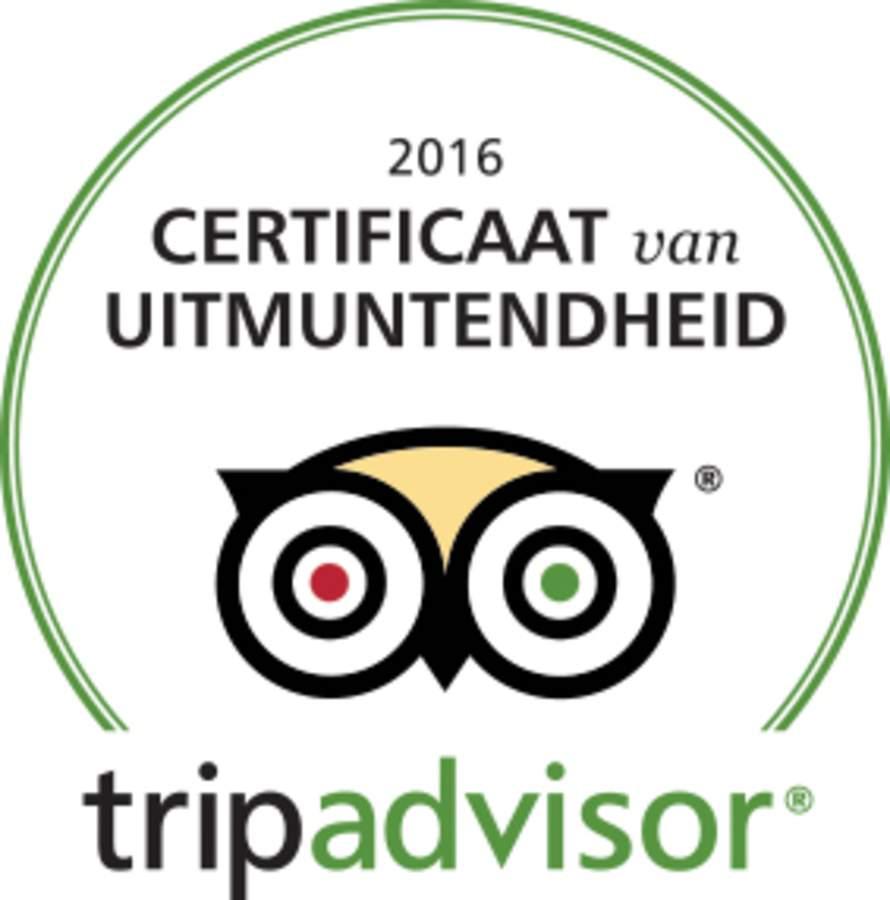 Logo Tripadvisor Certificaat van uitmuntendheid