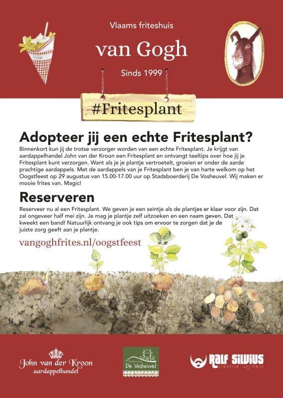 a Poster Fritesplant WIDP
