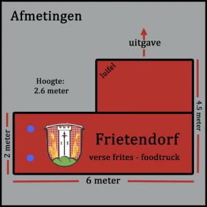 Frietendorf plattegrond