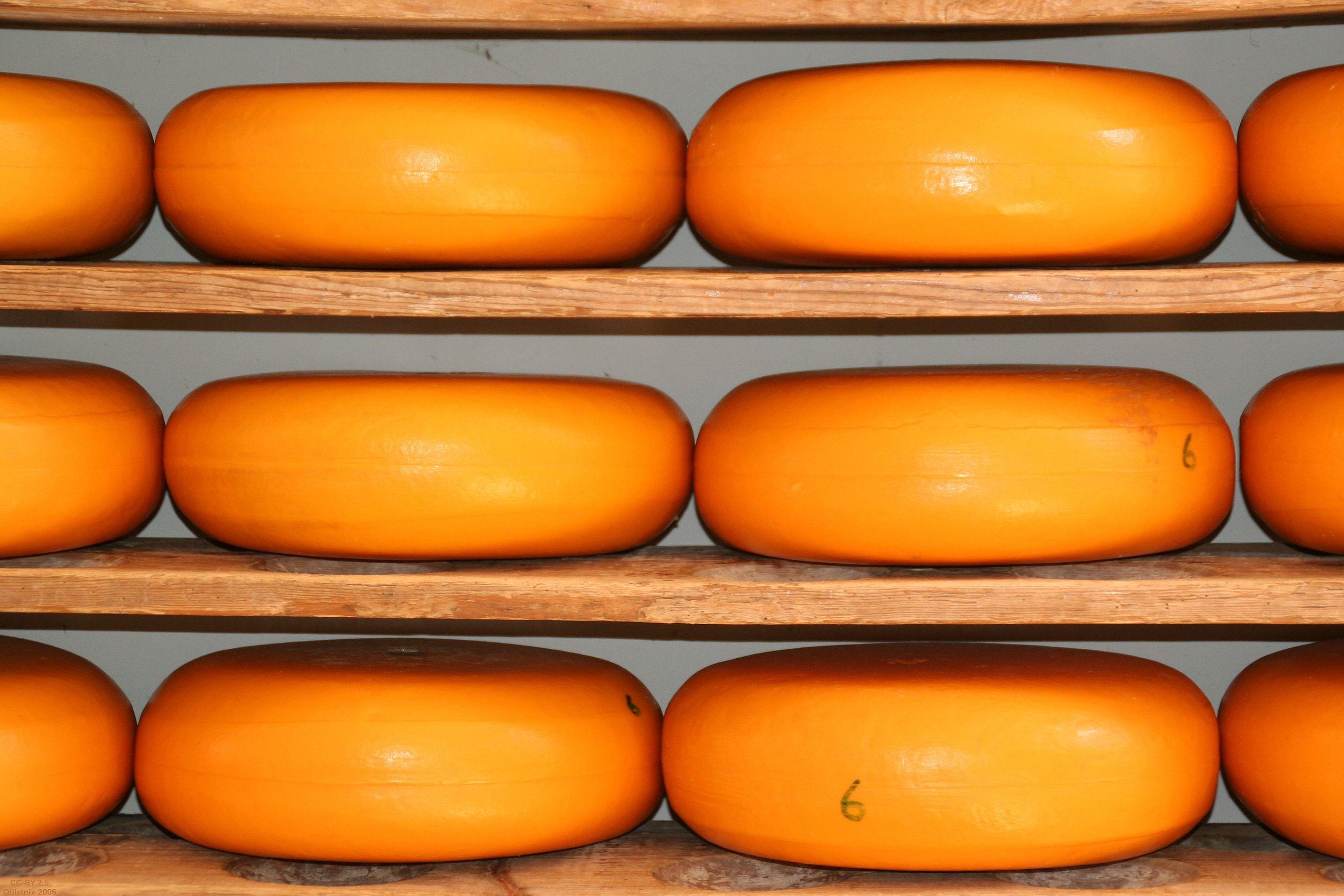 Kaas op planken