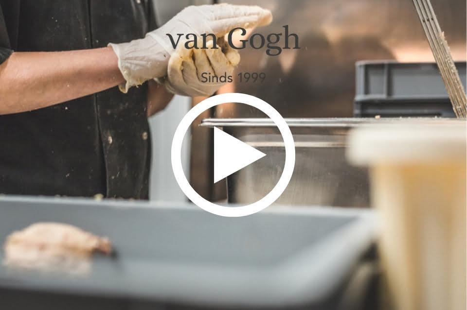 video over de Amersfoortse kroket van Vlaams friteshuis van Gogh